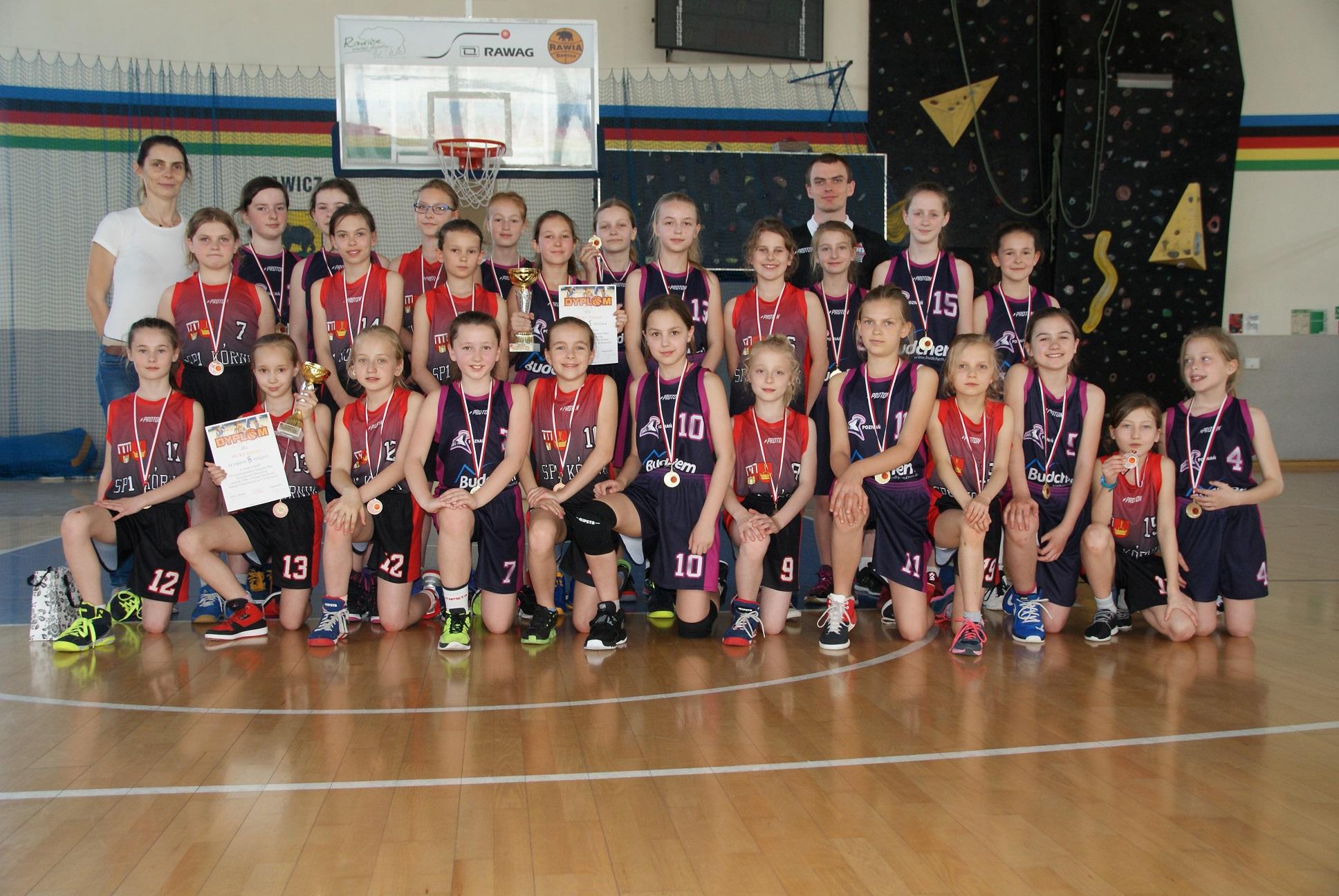 MUKS-owe podium na turnieju w Rawiczu