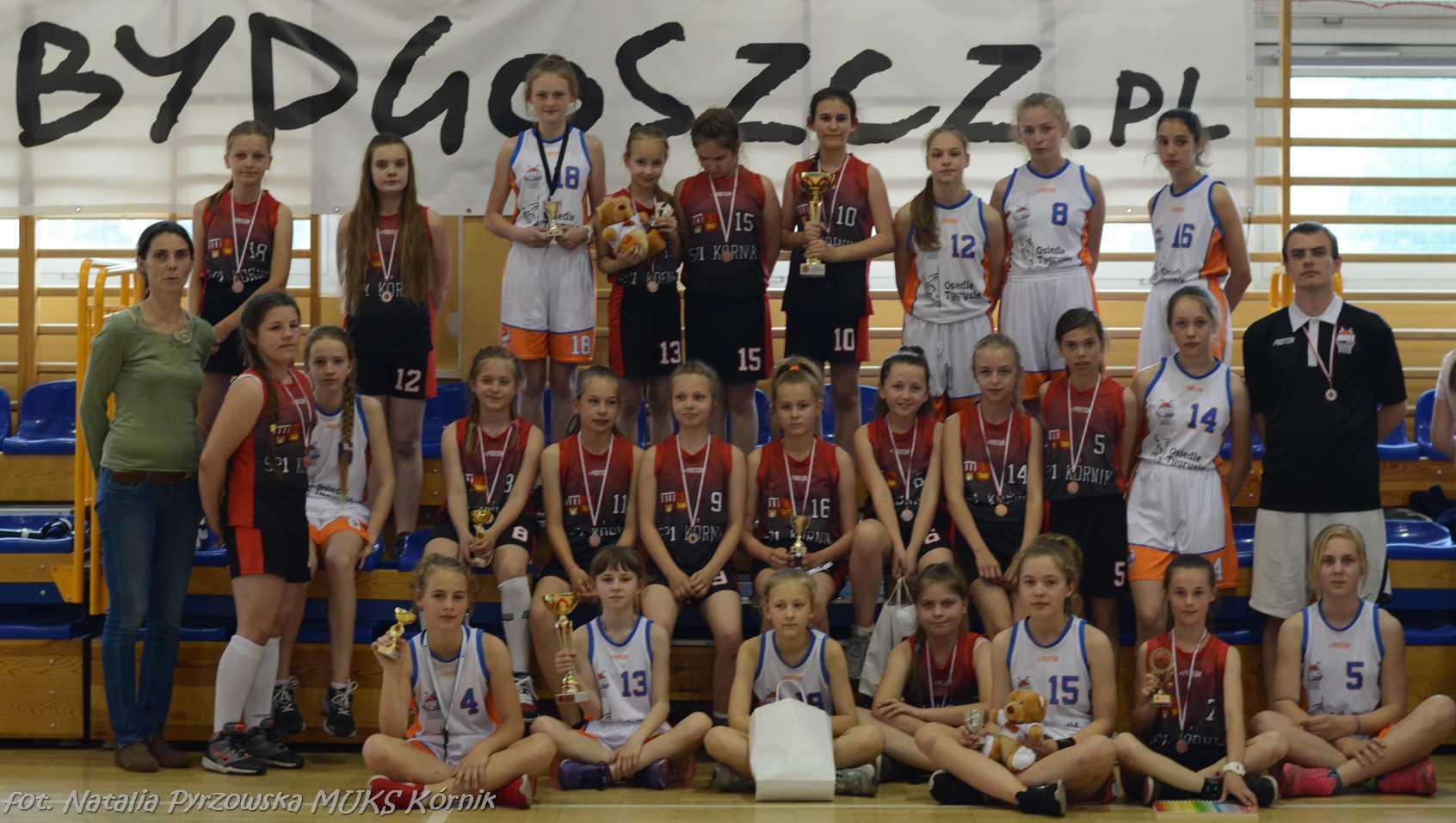 MUKS Kórnik na turnieju w Bydgoszczy