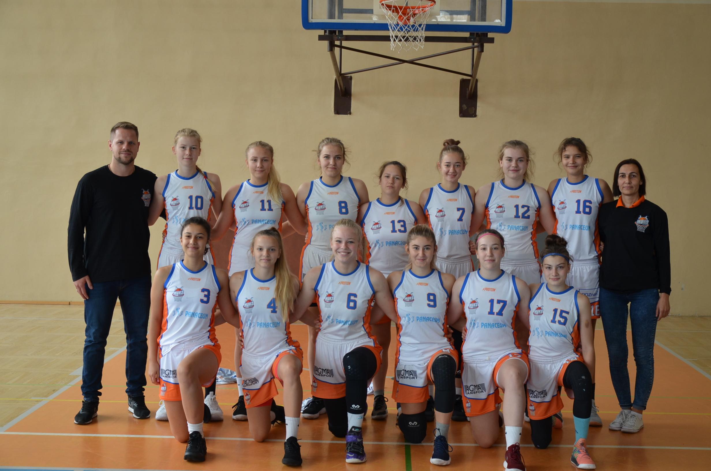 Juniorki na podium w Bydgoszczy