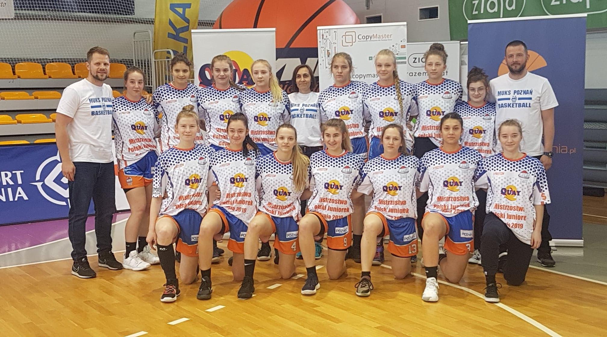 Juniorki MUKS Poznań 5. siłą w Polsce