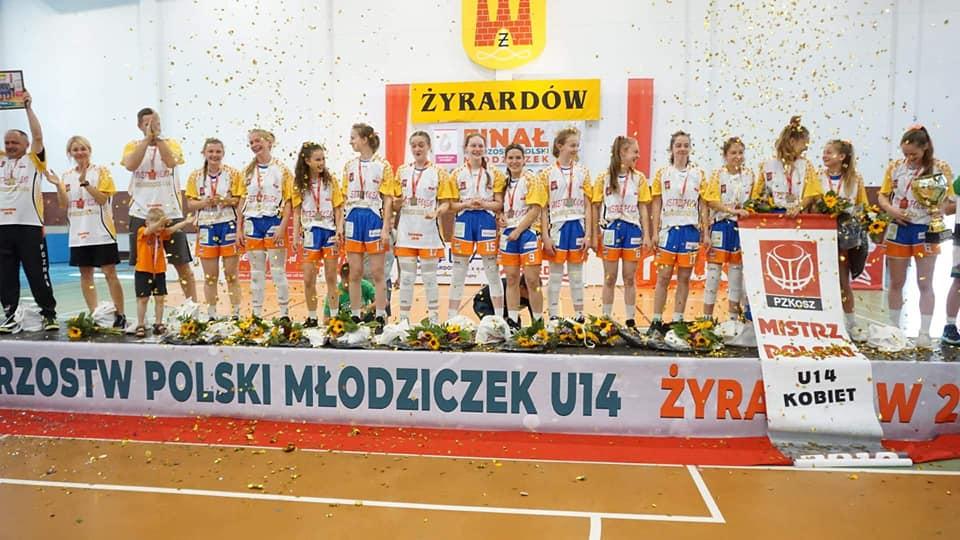 ZŁOTE MUKSIARY U14 !!!