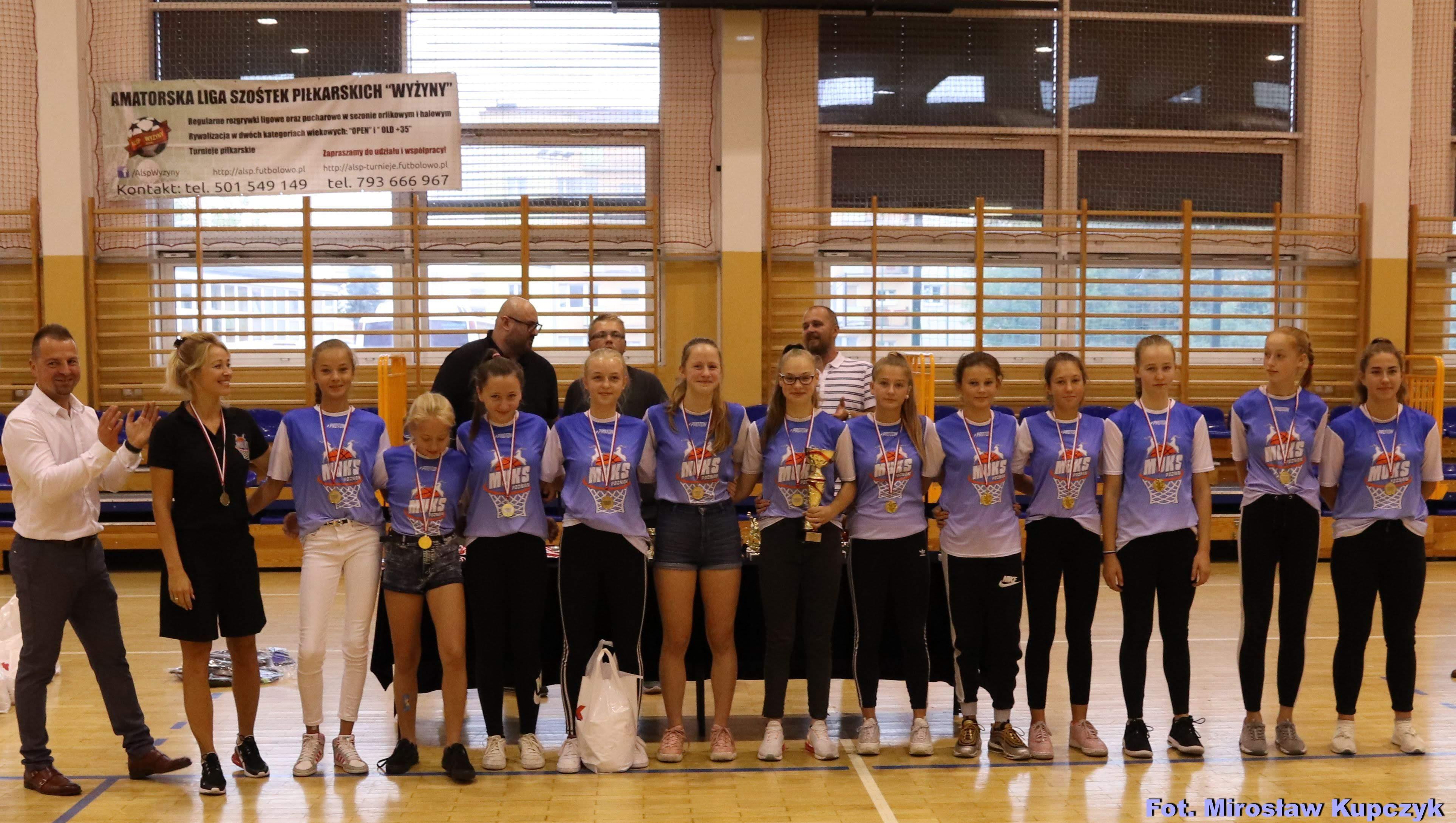 Młodziczki Starsze MUKS Poznań wygrały w Bydgoszczy