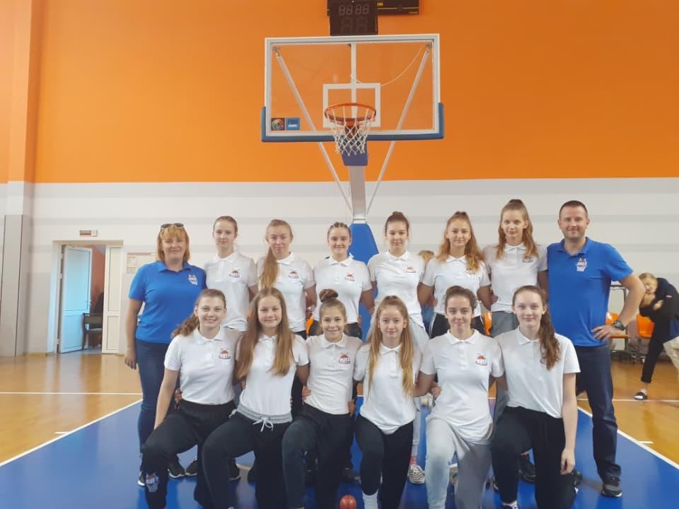 Kadetki na turnieju European Youth Basketball League w Grodnie