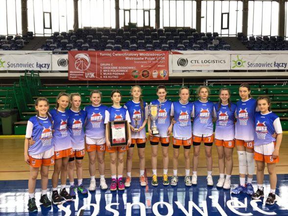 U13: Młodziczki zagrają w półfinałach Mistrzostw Polski