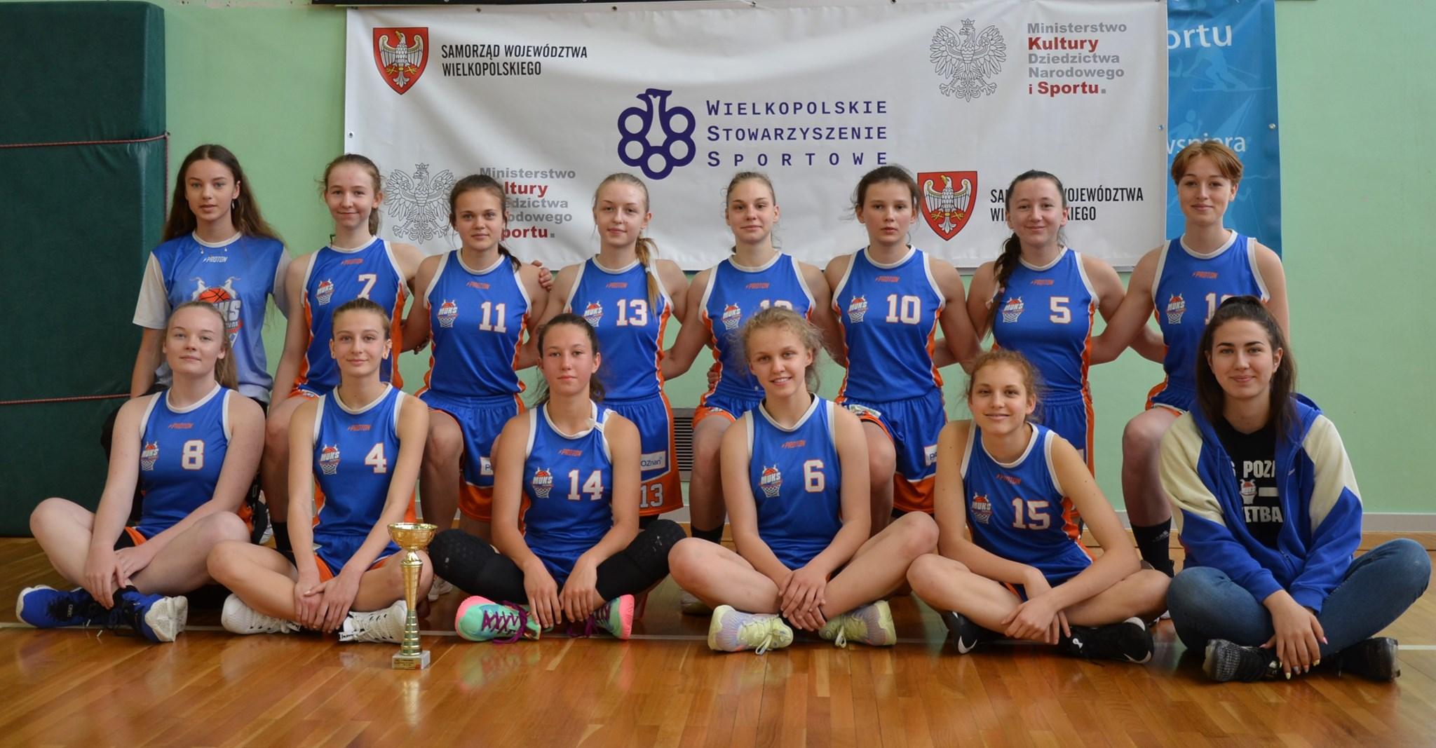 U15: Kadetki z awansem do finałów Mistrzostw Polski